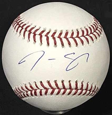 Justus Sheffield Signed Official Mlb Baseball Yankees Rookie Autograph Steiner Online Shop Autographs-original