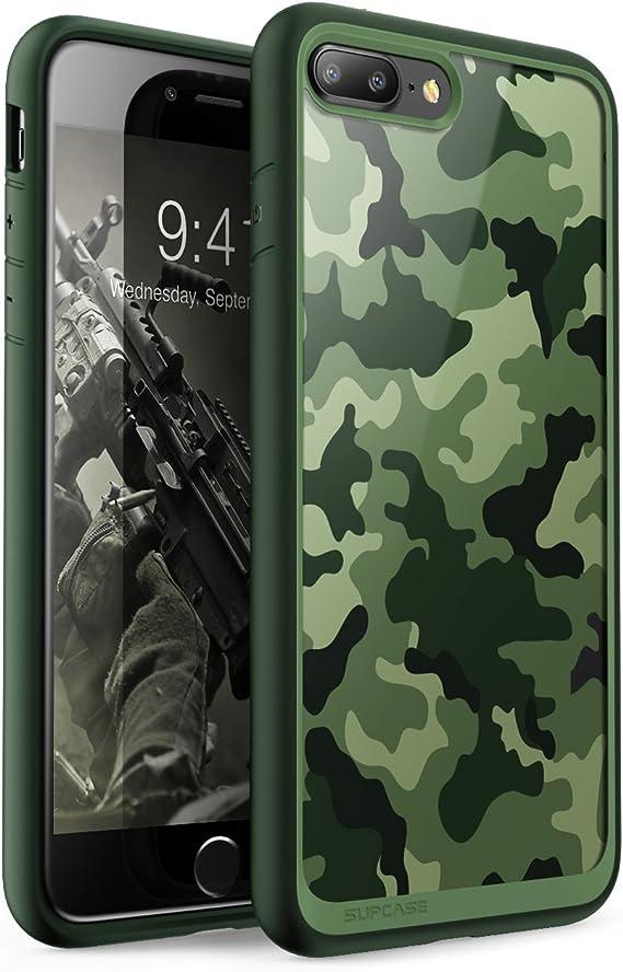 Blue iPhone 7 plus unicorn initial case