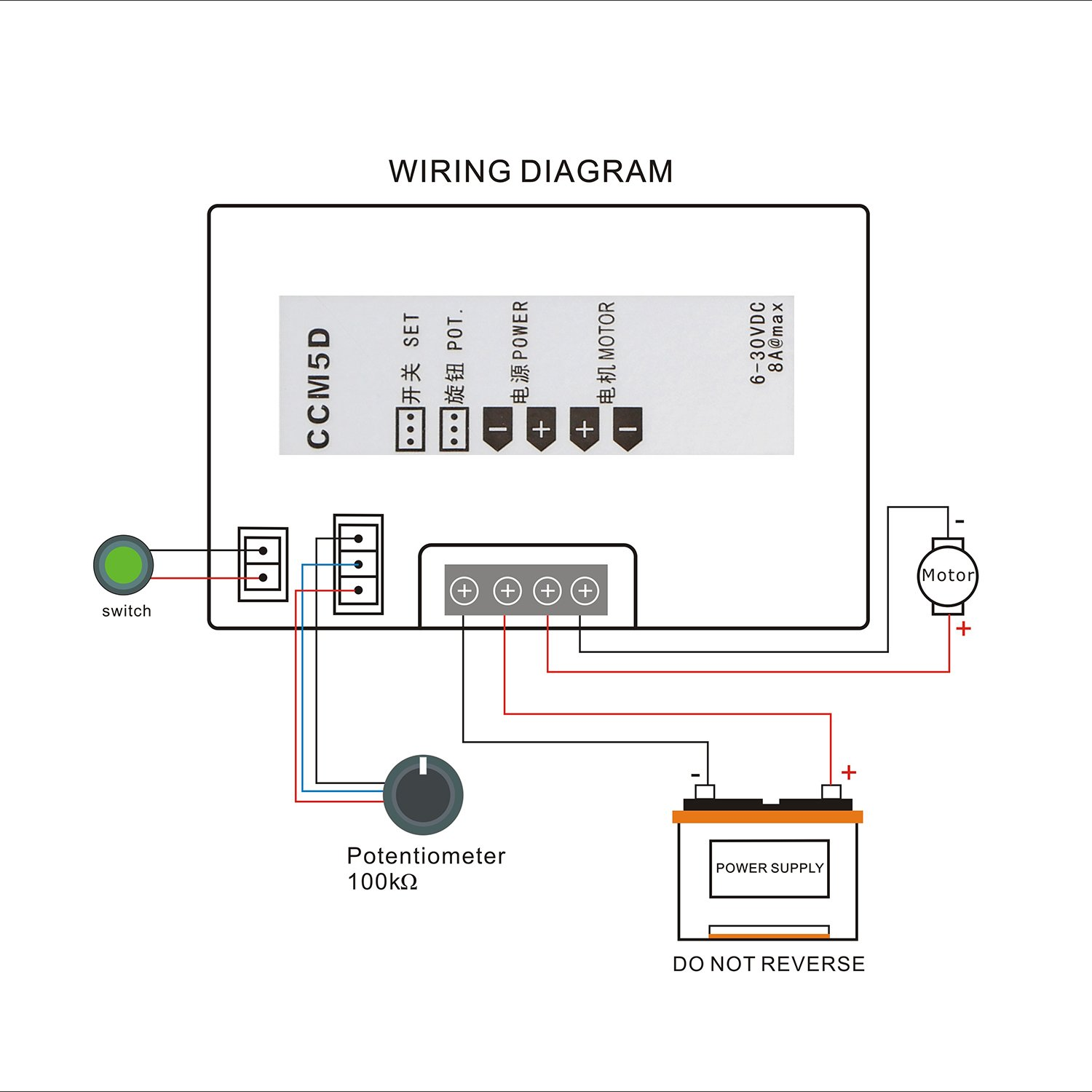 wiring a potentiometer for motor a free printable wiring diagrams