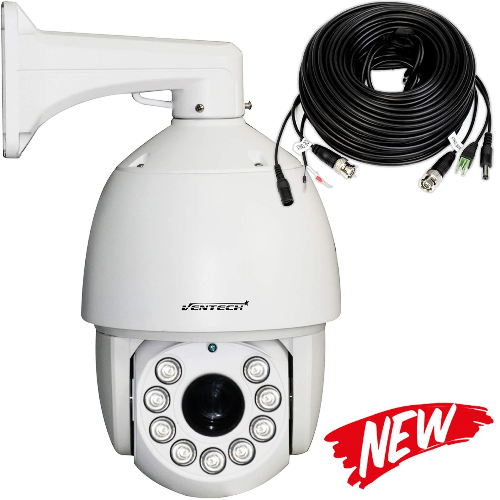 amazon com ventech ptz camera outdoor analog cctv pan tilt zoom