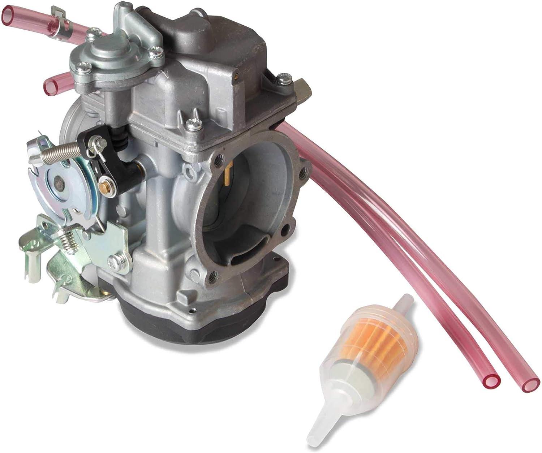 Rebuild Kit for Harley Davidson Sportster 40mm XL883 XL1200 Carburetor Keihin CV 27006-88 27421-99C 27490-04