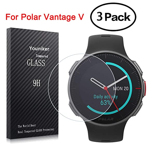 Amazon.com: Youniker 3 Pack for Polar Vantage V Screen ...