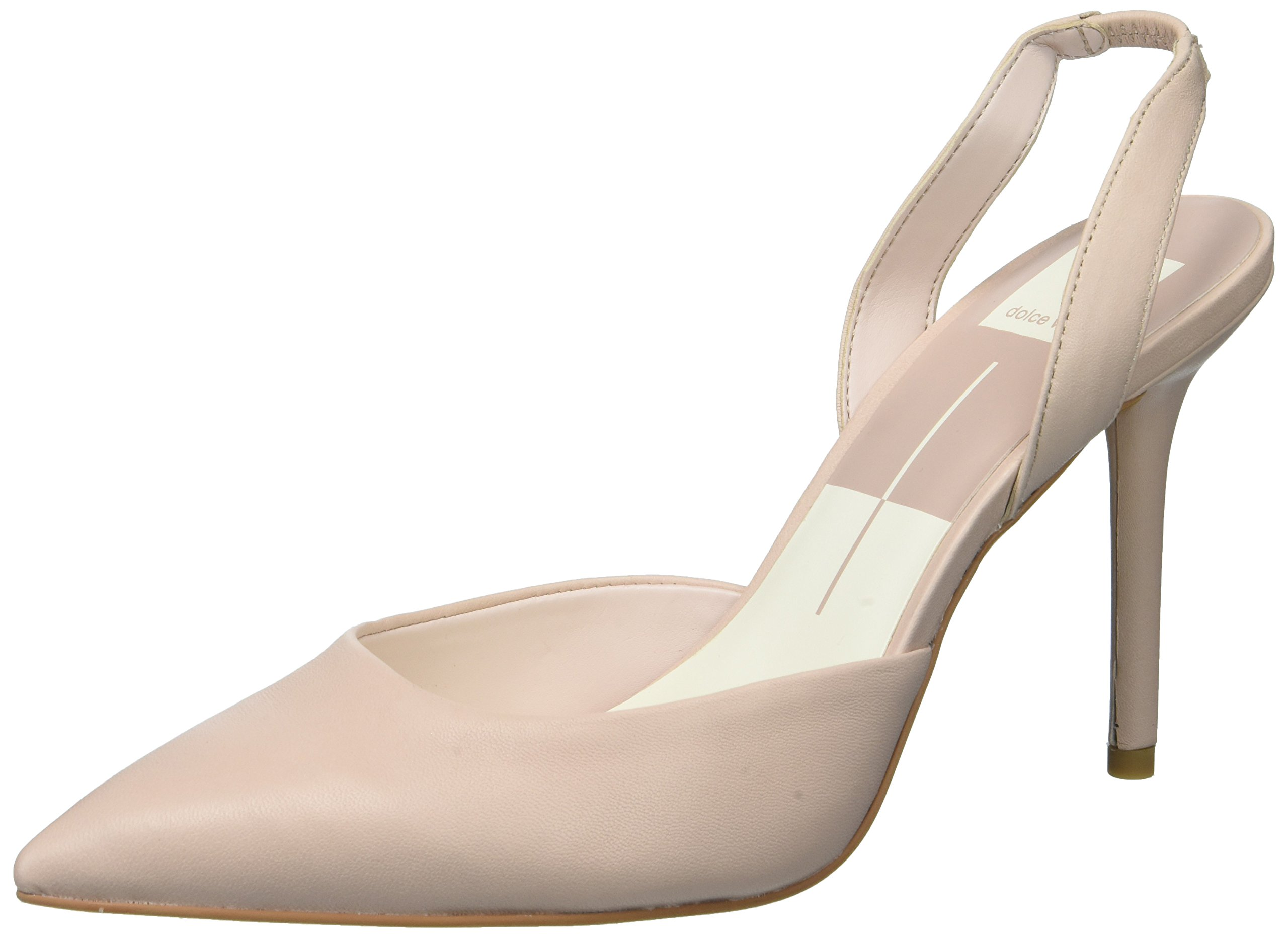 Dolce Vita Women's Maureen Pump, Light Blush Leather, 7.5 Medium US