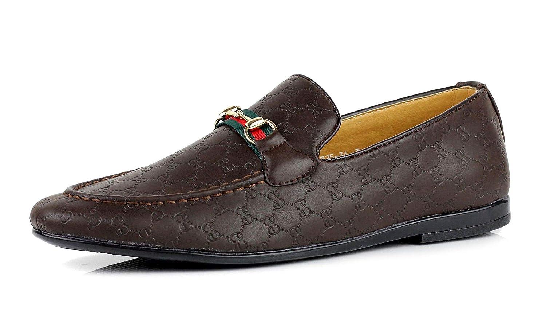 JAS Detalles Sobre Hombre Mocasines Informales Mocasines Italiano sin Cordones Zapatos Piel Sintética Tallas