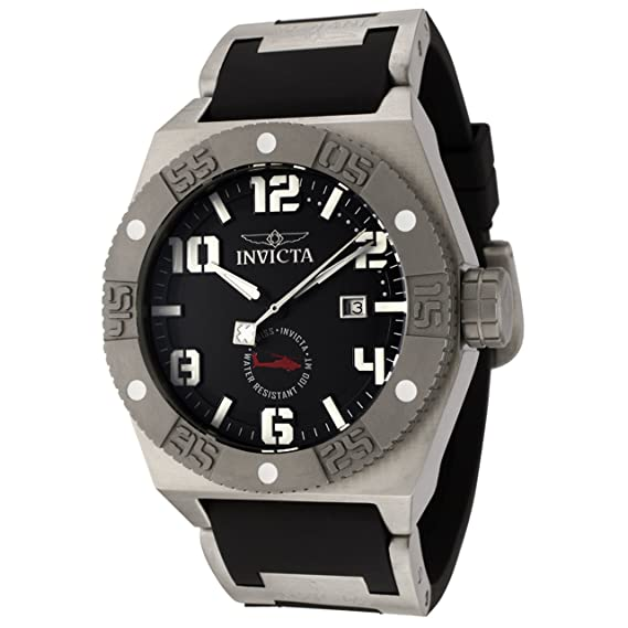 Invicta 0321 I Force Collection - Reloj de poliuretano de hombre, color negro