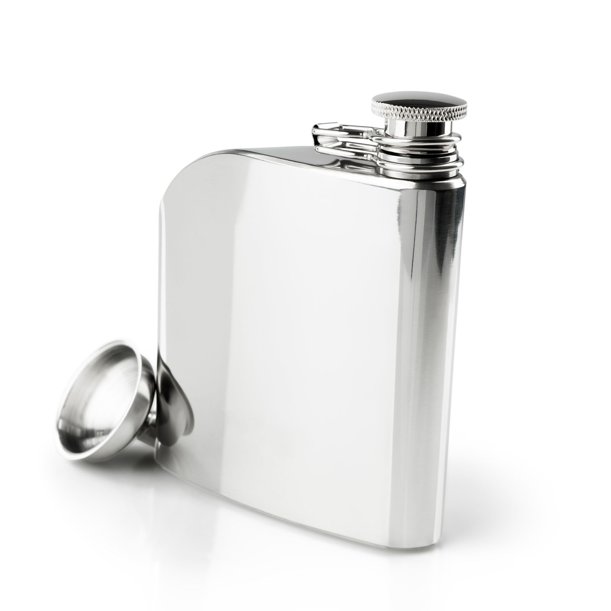 GSI Outdoors - Glacier Stainless 6 Fluid Ounces Trad Flask, Superior Backcountry Cookware Since 1985