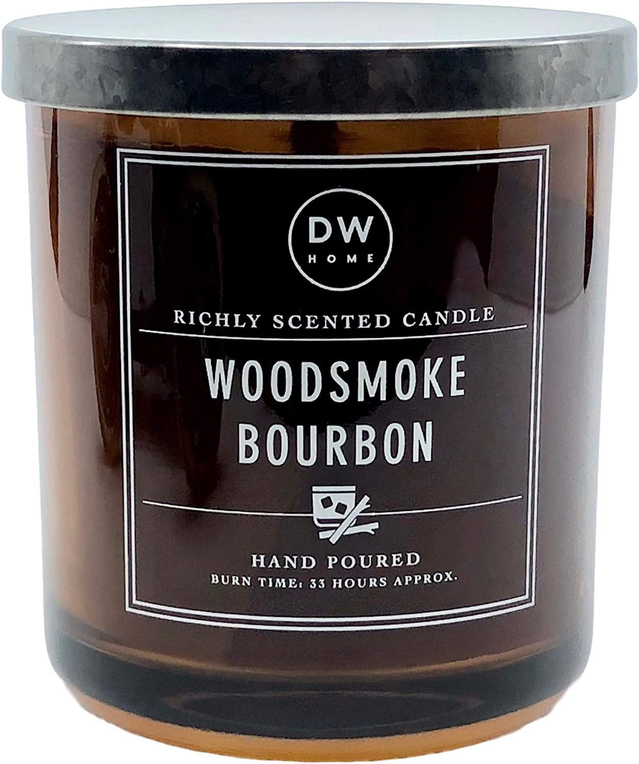 DW Home Woodsmoke Bourbon Scented Candle