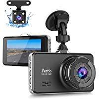 Peztio 1080p WiFi Car Dash Cam with 3 inch IPS Screen (Black)