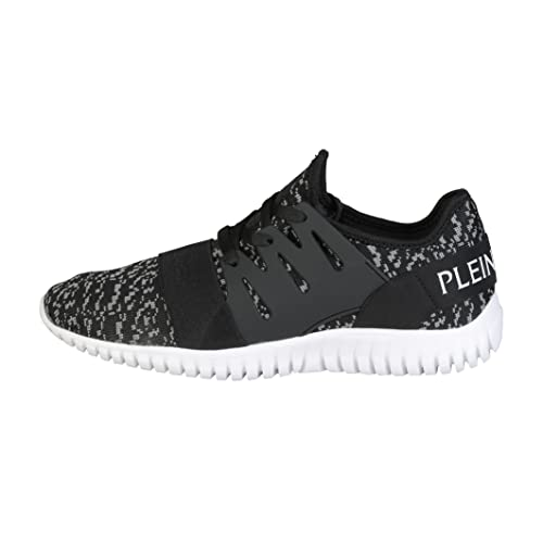 c474bb819f8 Philipp Plein Sport P17S MSC0332 Runner Sky 02K Black Trainers Shoes ...