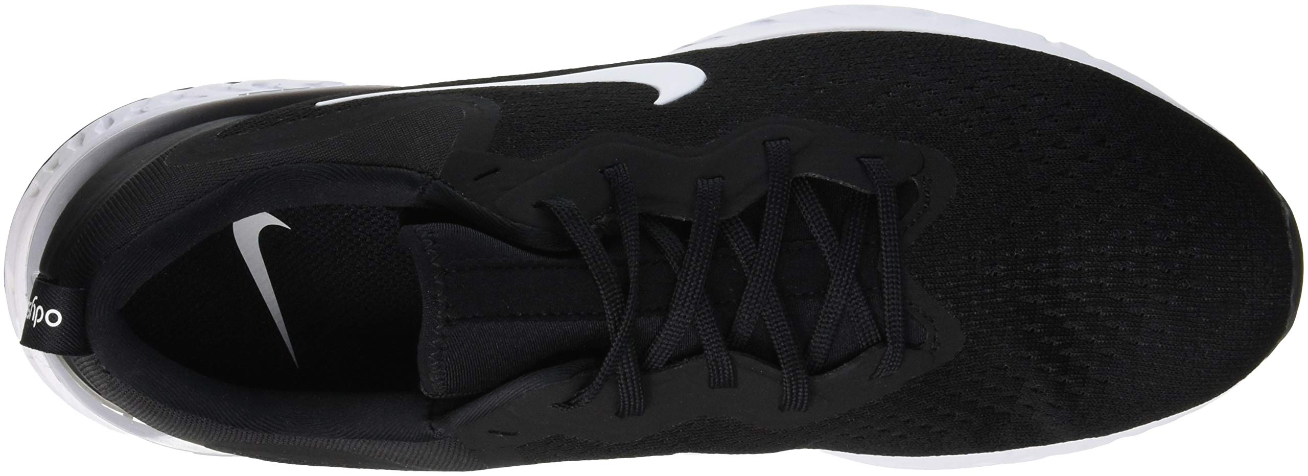 Nike Men's Odyssey React Running Shoe Black/White-Wolf Grey 7.5 by Nike (Image #7)