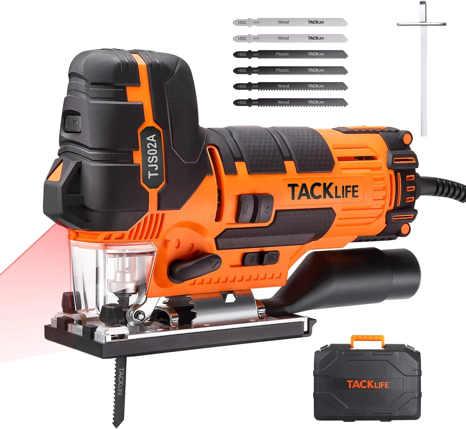 Sierra de Calar TACKLIFE 800W LED