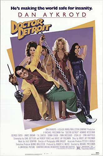 doctor detroit 1983 authentic 27 x 41 original movie poster rolled