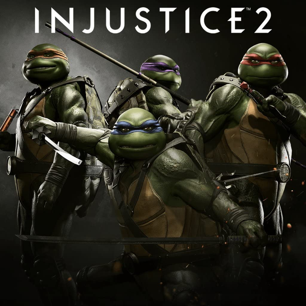 Amazon.com: Injustice 2: TMNT - PS4 [Digital Code]: Video Games