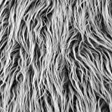 Shannon Fabrics Grey Frost Shannon Faux Fur Mongolian Fabric By The Yard
