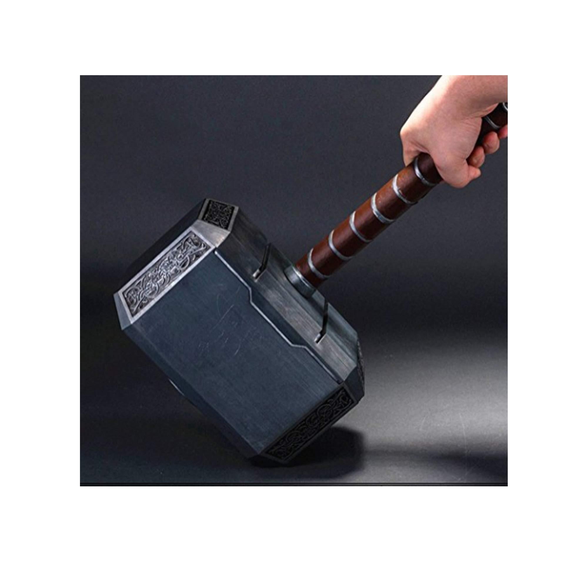 1:1 Full Solid Avengers Thor Hammer Replica Prop Resin Mjolnir Cosplay