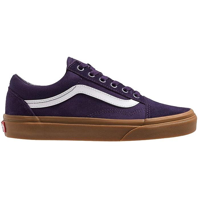 Vans Old Skool Sneaker Damen Herren Kinder Unisex Blau Lila Gum