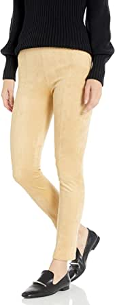 Armani Exchange A|X Women's Suede Form Fitting Leggings