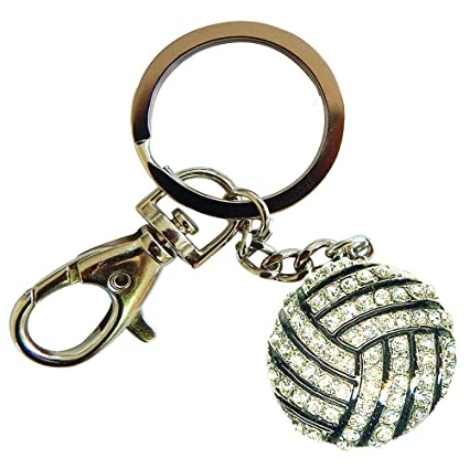 Amazon.com: Deportes Novelties voleibol con forma Bling ...