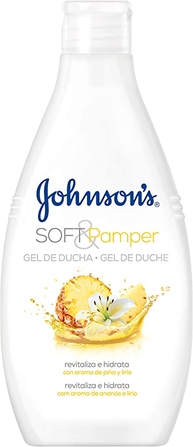 Johnson & Johnson - Gel de Ducha Soft & Pamper, Piña y Lirio - 3 ...