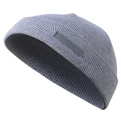 Amazon.com: neff Unisex-Adults Mini Fisherman Beanie Hat for Men Fold  Cuffed, Grey Heather, One Size: Clothing
