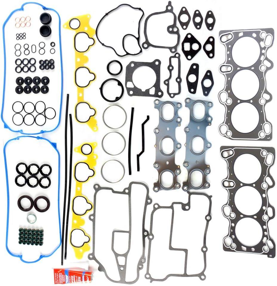 Engine Head Intake Exhaust Manifold Gasket Set Kit for Acura Legend TL RL