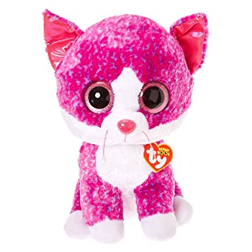 004427b23d4 Image Unavailable. Image not available for. Color  Ty Beanies Claire s  Girl s Boo Large Charlotte The Cat Plush Toy