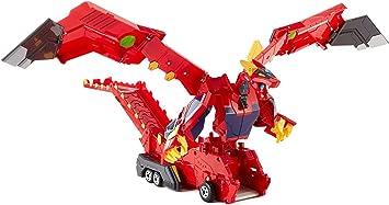 New Turning Mecard Mecanimals Dracha Mega Dragon Transforming Vehicle Official