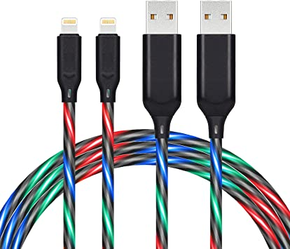 [DIAGRAM_4FR]  Amazon.com: Light Up Flowing Charging Cable,iChase Current Visible EL or  LED Lights Charger Cord, Probably The World's Most Cool Cable-3ft (2 Pack  Rainbow): Home Audio & Theater   Visible Home Theater Wiring      Amazon.com