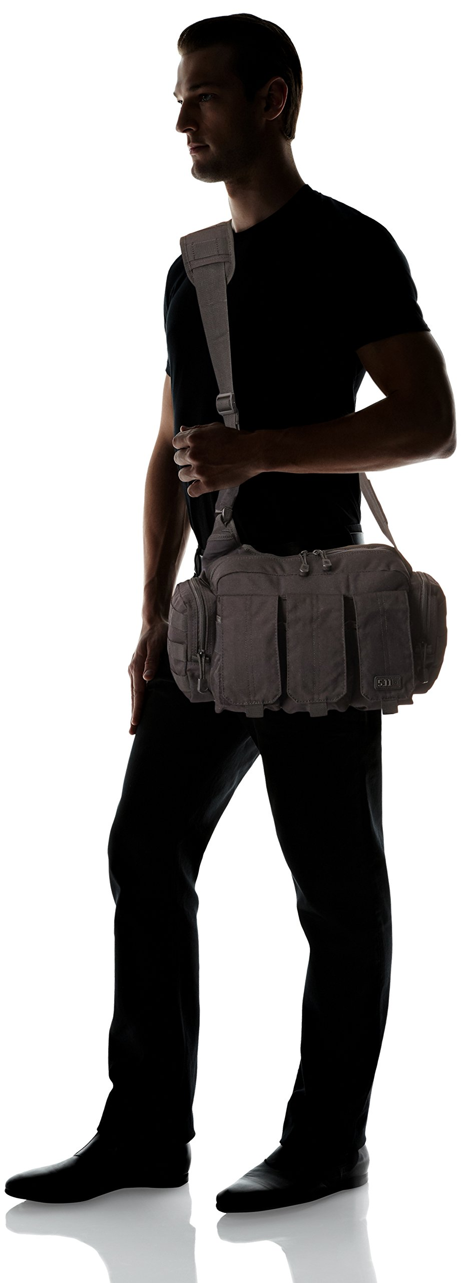 5.11 Tactical Bail Out Bag Molle Ammo Magazine Carrier Pack for Responders, Style 56026 by 5.11 (Image #6)