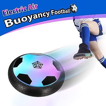 Theefun Juegos de Pelota de fútbol Air Power con Parachoques de ...