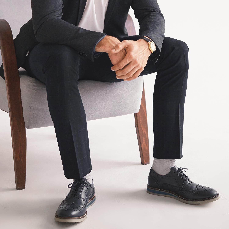 +MD 3 Pack Mens and Womens Non-Binding Top Crew Socks Super Anti-Odor Bamboo Charcoal Fiber Dress Socks