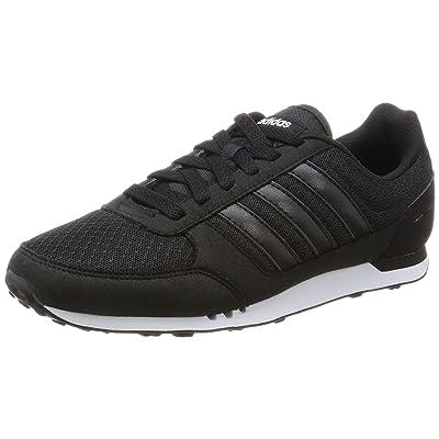 adidas City Racer W, Chaussures de Running Compétition Femme, Noir (Negbas/Ftwbla/Rosimp)