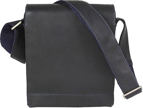 Harold s Campo bolso bandolera piel 22 cm negro  Amazon.es  Zapatos ... a5d81cb47d29