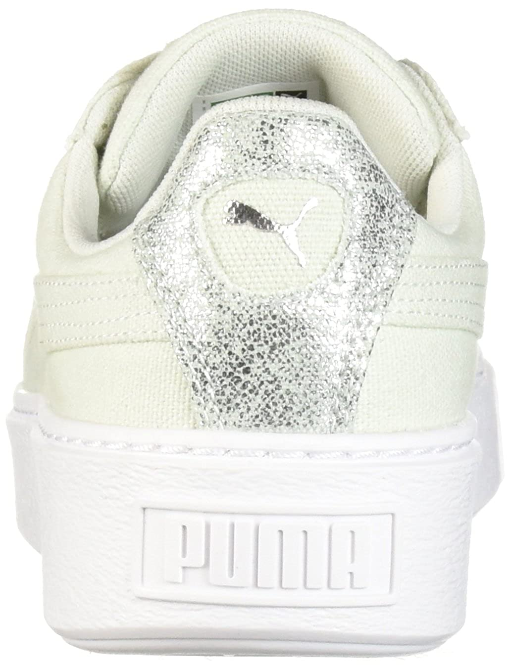 Puma Frauen Korb Plattform Canvas Schuhe: