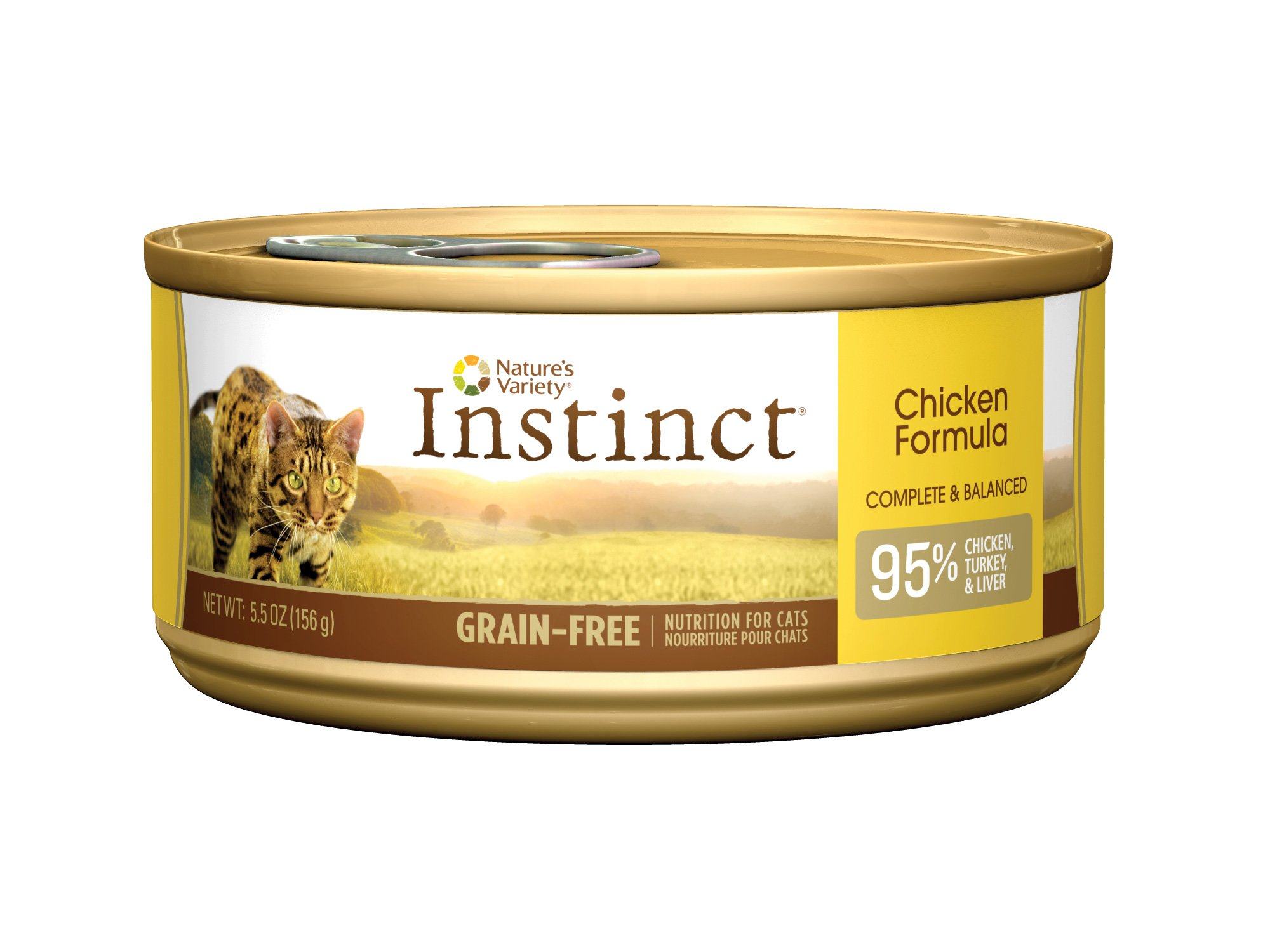 Nat ure's Variety Instinct Grain-Free Canned Cat Food