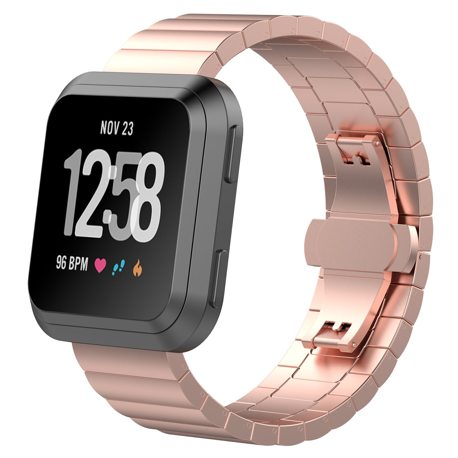 Amazon.com: FitTurn For Fitbit Versa Bands Replacement Women ...