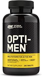 Optimum Nutrition Opti-Men Daily Multivitamin Supplement, 240 Count