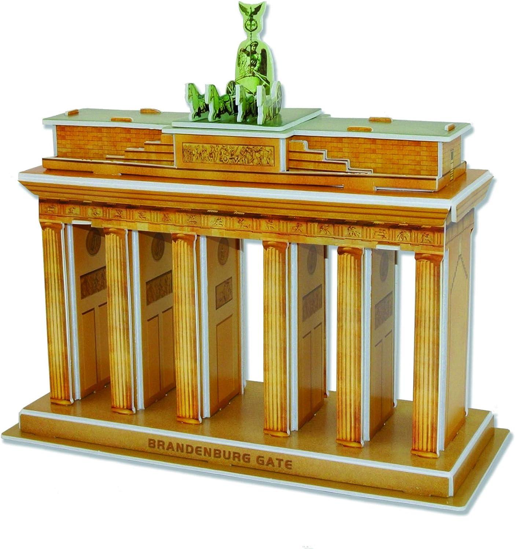 Puerta de Brandenburg Puzzle 3D 31 piezas: Amazon.es: Juguetes y ...
