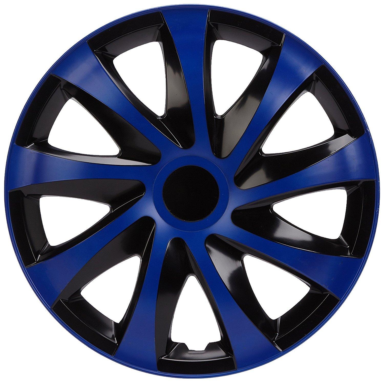 14-4 pi/èces NRM kO250 enjoliveur Draco CS-Noir//Bleu