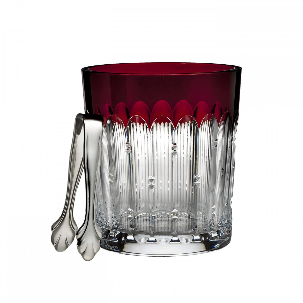 Waterford Talon Red Ice Bucket