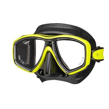 Tusa Máscara de buceo (M de 212 Freedom Ceos – Transparente, negro y amarillo