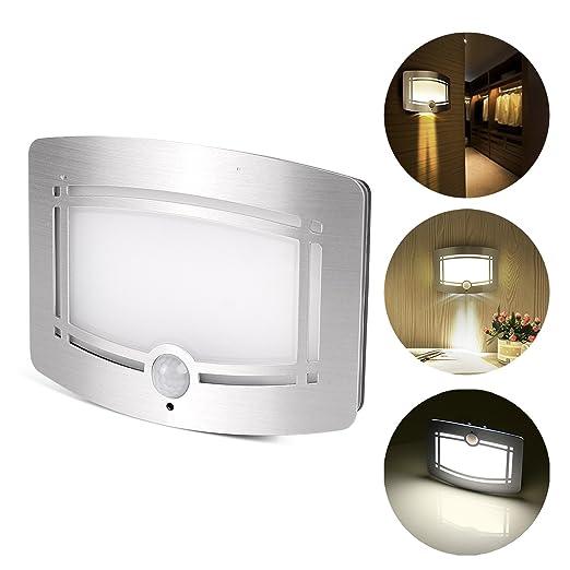 39 opinioni per Luce LED da Muro, LemonBest® Lampada LED con Sensore di Movimento a Batterie