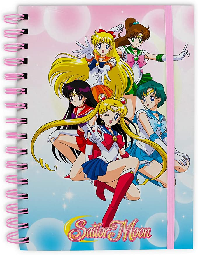 ABYstyle - SAILOR MOON - Cuaderno - Sailor Warriors: Amazon.es: Juguetes y juegos