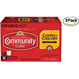 Community Coffee New Orleans Blend Coffee & Chicory Single-Serve K-Cups, 36 Count