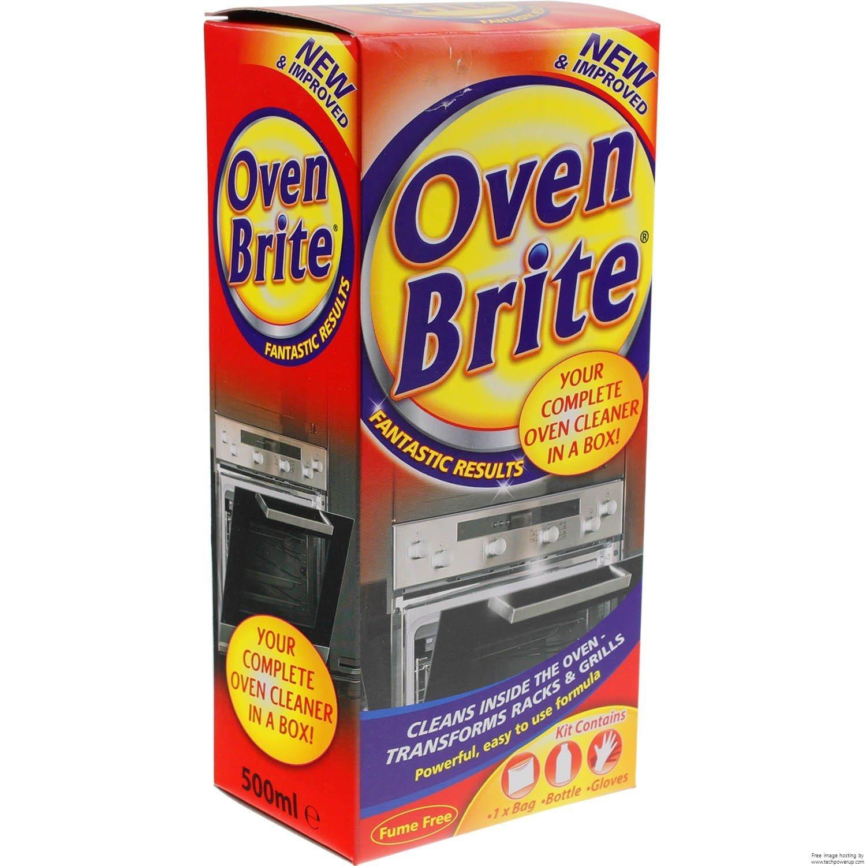 3X Oven Brite - 500ML - Bottle Bag & Gloves Included - Complete Oven Cleaner