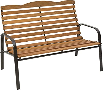 Country Garden Stationary Bench