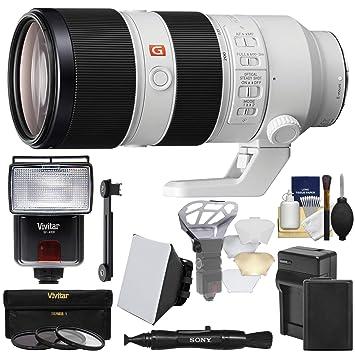 Amazon.com: Sony Alpha E-Mount Fe 70 – 200 mm f/2.8 mm OSS ...