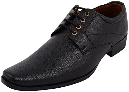74dd41aa83f ALESTINO Formal Shoes for Men Leather Shoes Black Formal Shoes Mens ...