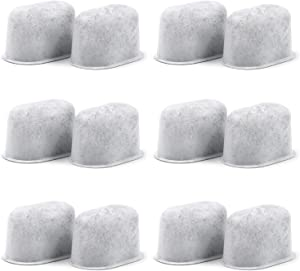 12 Pack Keurig Charcoal Water Filters Replacements - Removes Chlorine, Odors, and Others Impurities from Water - for Keurig 2.0 Coffee Machines