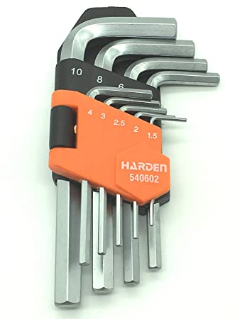 3 Innensechskant Winkel Sechskantschlüssel 1,3 LANG 2 4 mm 1,5 2,5